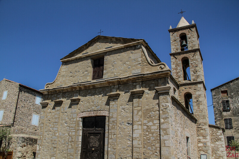 Village of Aleria church