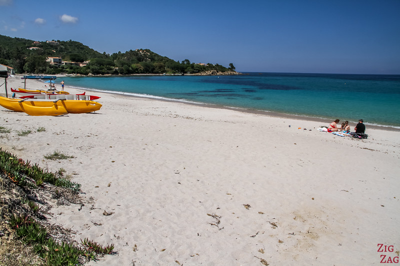 Best Beaches in South Corsica - favone
