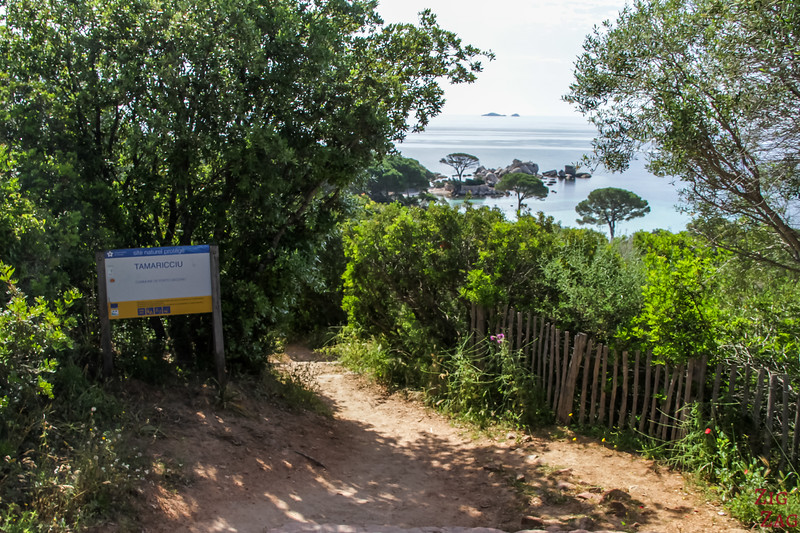 Access to Tamaricciu Beach 1