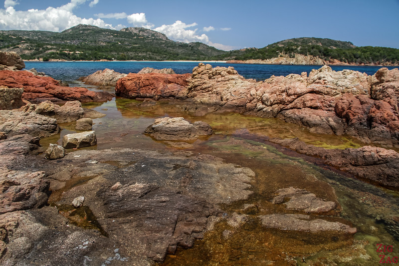 Best Corsica Places for stunning rock formations - Rondinara bay