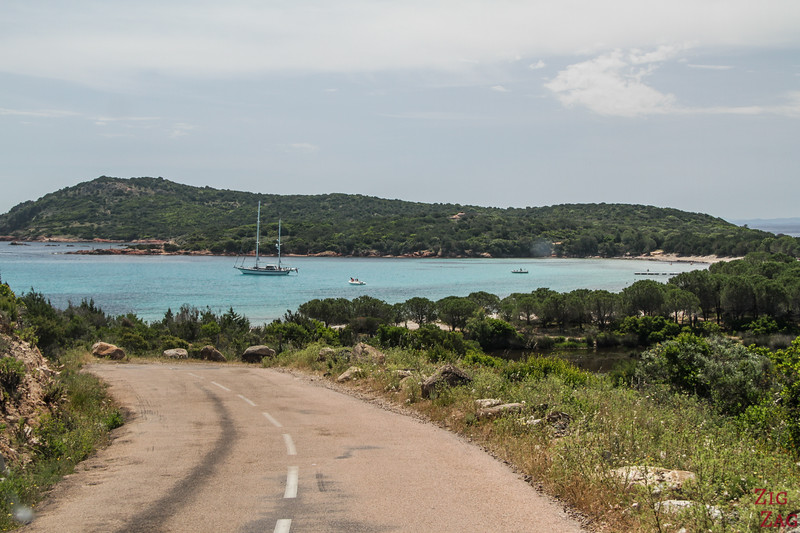 How to get to the Rondinara Bay - road 2