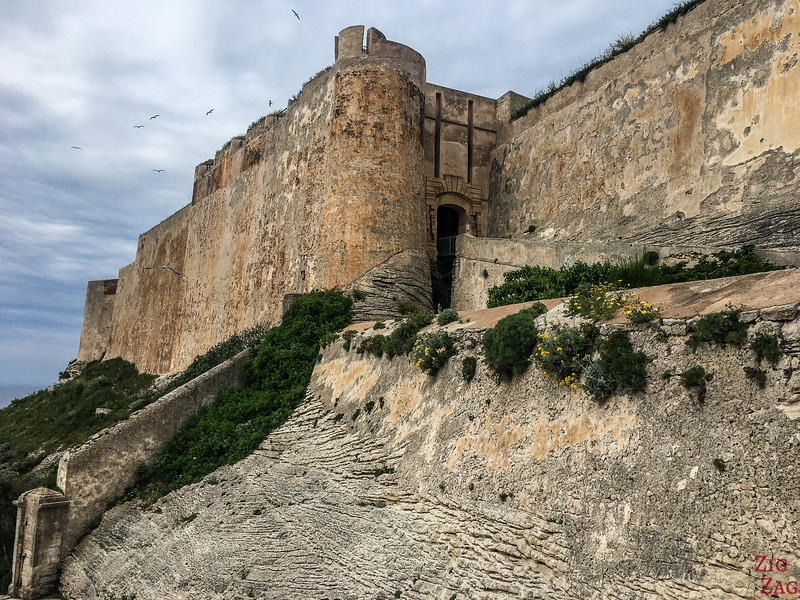 Places to visit in Bonifacio Corsica - Citadel Bastion