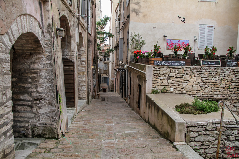 Places to visit in Bonifacio Corsica - old town