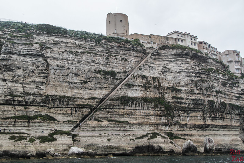 What to do in Bonifacio - Aragon Staircase 7