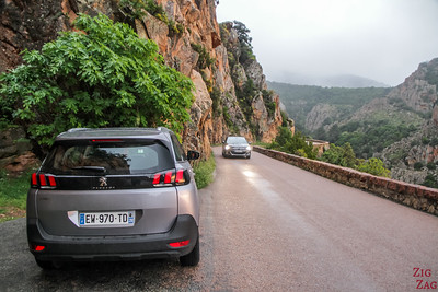 Route Calanques de Piana - parking