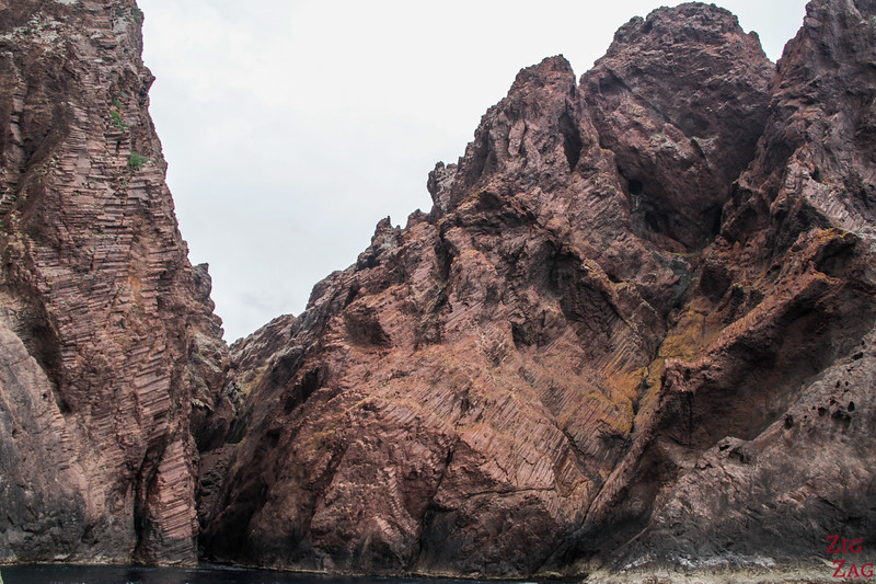 Best Corsica Places for stunning rock formations - Scandola Reserve