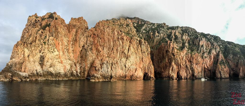 About the Calanques de Piana Corsica