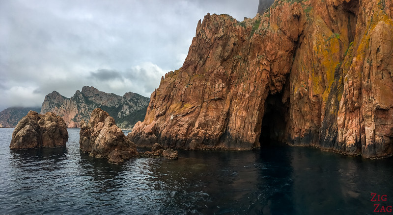What to do in Corsica - boat tour Piana