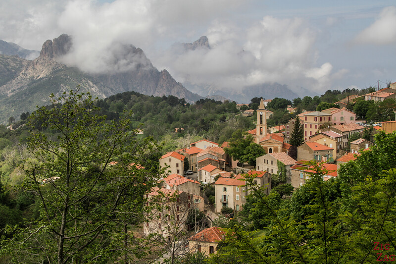 Corsican Villages in the mountains - Evisa
