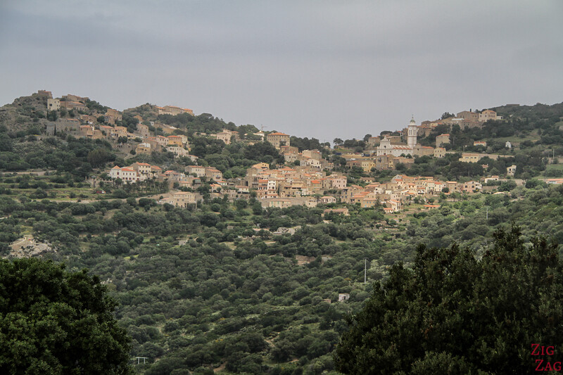 Villages of La Balagne Corsica - views 1