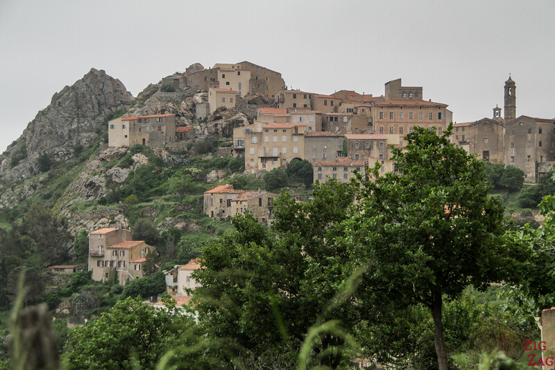 plus beaux villages de Corse - Speloncato