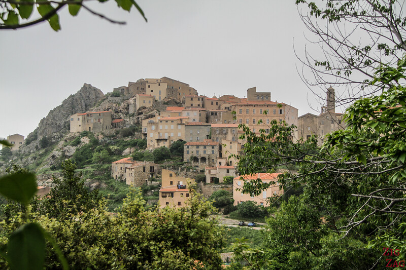Villages of La Balagne Corsica - top hill 2