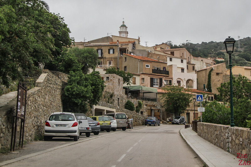 Corsica driving in village 2