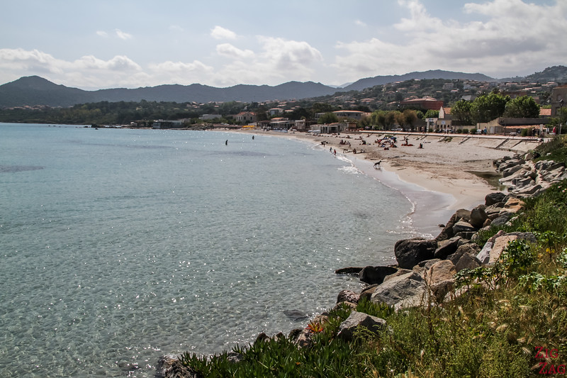 Ile Rousse Strand - in der Stadt 3