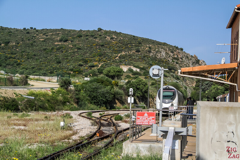 Things to do in Ile Rousse Corsica - Calvi train