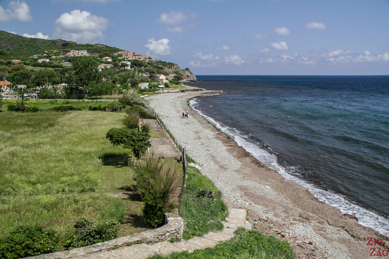 Beach near Erbalunga