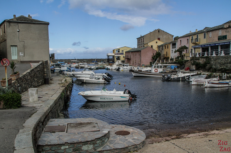 Cap Corse village - Port centuri