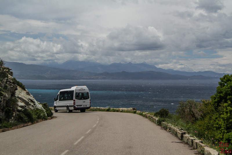 Difficulty driving on Cap Corse