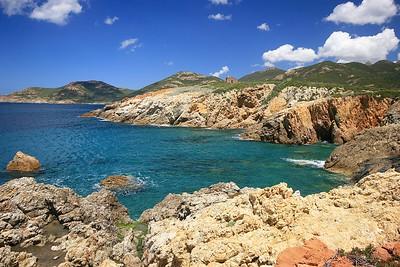 Reserve Naturelle de Scandola. Corsica, Frankrijk.