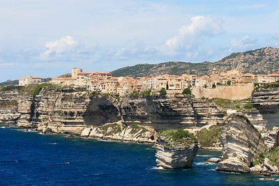 Bonifacio, Corsica, Frankrijk.