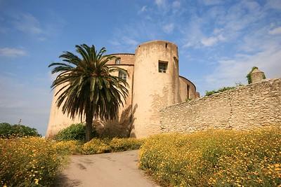 La Citadelle. Saint Florent, Corsica, Frankrijk.