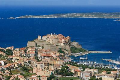 Citadel van Calvi. Corsica, Frankrijk.