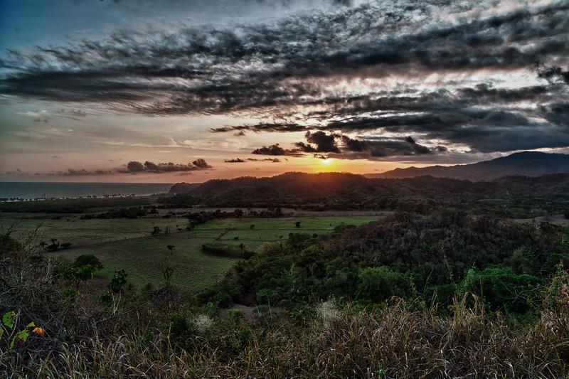 View from the terrazza - Costa Rica