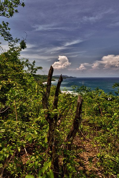 View from the cliffs in Montezuma - Costa Rica