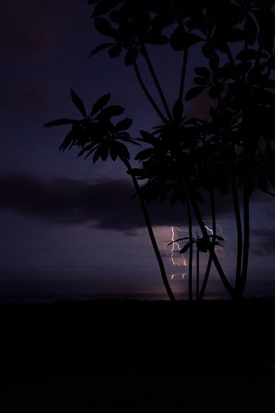Nightly lightning shows - Costa Rica