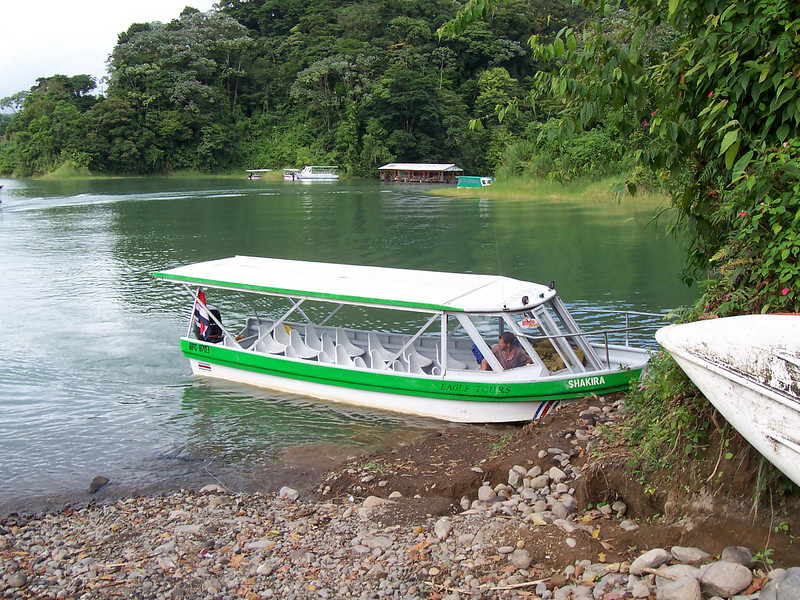 Leaving Arenal and heading to Monteverde - long lake and mountain crossing, after night of brutal food poisoning. Happier than ever we still made it and were ok the next morning.