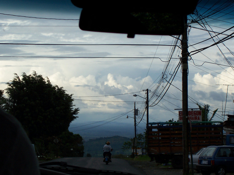 more pictures out the window of the van of stuff on the way to Arenal.
