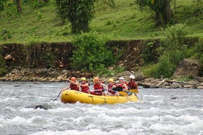 Costa Rica River Raft Trip