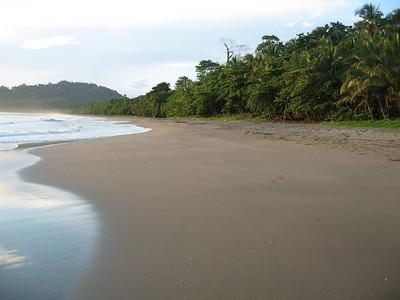 Beach where we stayed