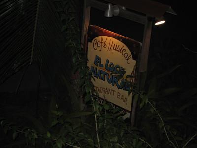 Restaurant, first night