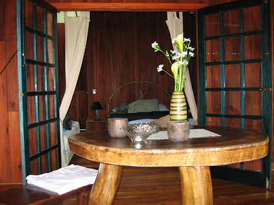the room at Banana Azul in Puerto Viejo