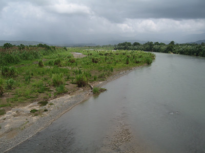 River on the way to Puerto Viejo