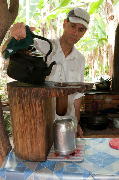 Bob making our coffee.<br /> <br /> 016-DSC_1113