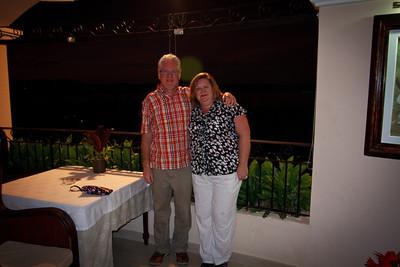 Gary and Lauralea In the Royal Club Bar