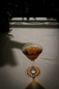 The Bartender Made A Great Manhattan