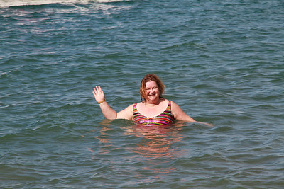 Lauralea Swimming in Bahia Culebra