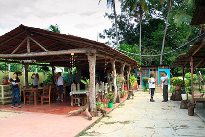 Roadside Cafe in Boscon