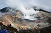 Volcan Poas caldera