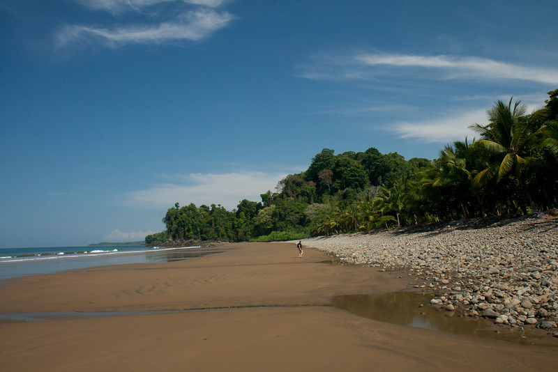 Costa Rica 2013: Uvita - 299 Playa Ballena walking toward Playa Arcos