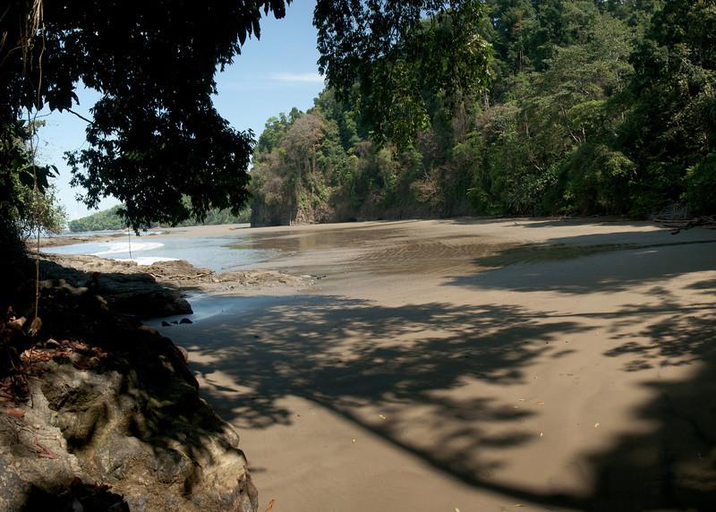 Costa Rica 2013: Uvita - 299 Playa Ballena walking toward Playa Arcos