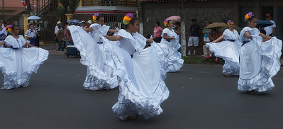 San Isidro de el General, Costa Rica September 2013  Independence Day Parade