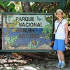 Sunday we toured Manuel Antonio National Park.  About three hours to get through and well worth it.