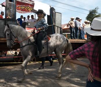 El Tope (show horse parade) at Predregoso