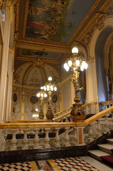 Wealthy coffee merchants raised import taxes to have a proper opera venue.