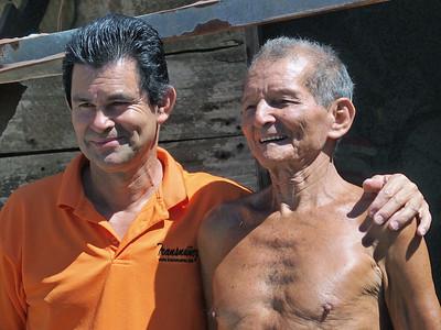 Oscar and Don Francisco