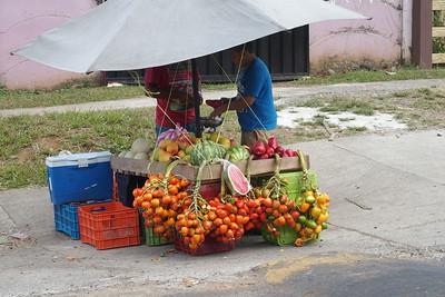 road side vendor near San Jose